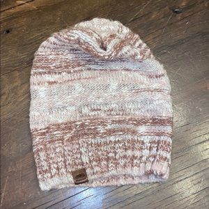 Pink roots hat